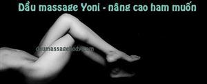 Sử dụng dầu bôi trơn YONI để giảm đau rát và tăng khoái cảm khi yêu